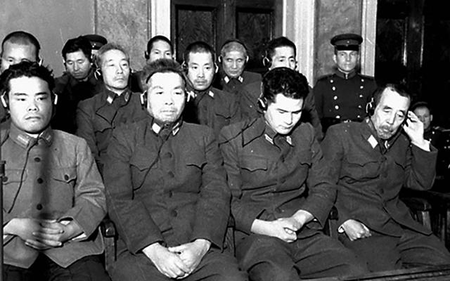 Хабаровский процесс над японскими преступниками 25.12.1949-30.12.1949