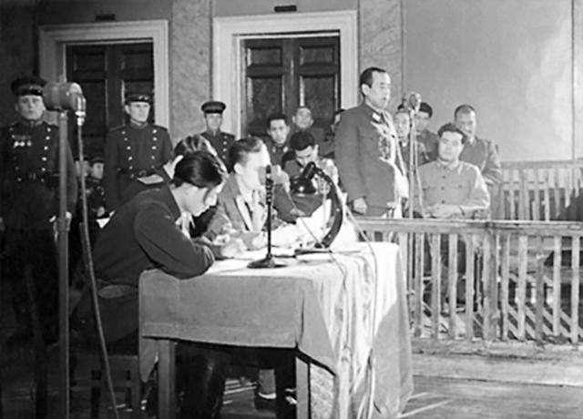 Хабаровский процесс над японскими военными преступниками 25.12.1949-30.12.1949