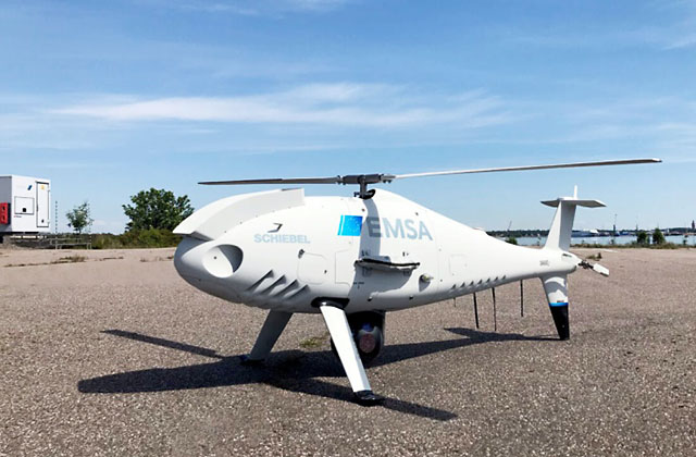CAMCOPTER S-100 (Фото Schiebel).