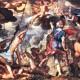 КАРТИНА: Иоахим Эйтевал Битва богов с титанами (1600)
