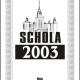 КНИГА: SCHOLA — 2003: Сборник научных статей философского факультета МГУ